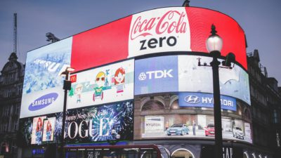lighted billboards advertising how to utilize local marketing channels