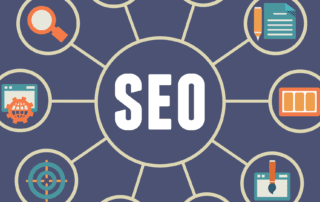 an infographic showing whats included in an seo web audit